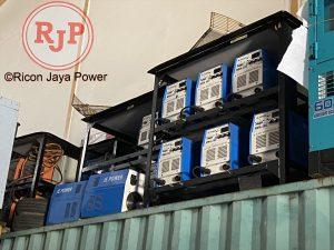 Rental DC inverter Arc welder MMA-500 A Batam