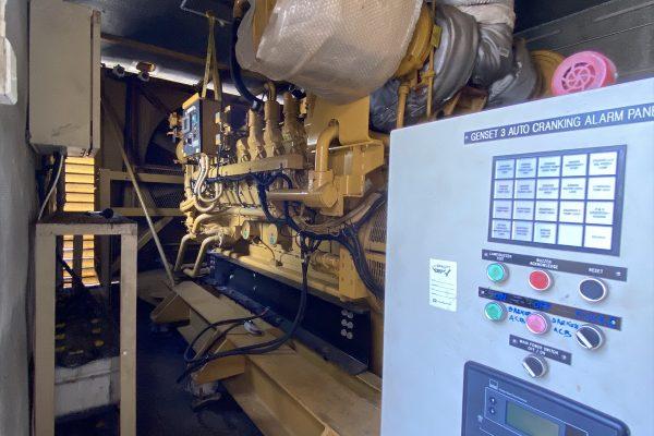 Genset CATERPILLAR 2000 kVA Batam