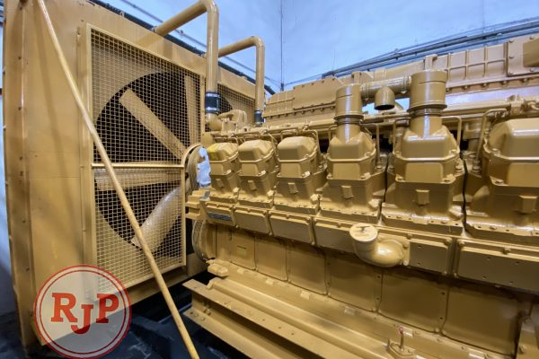 Genset CATERPILLAR Open Type 3508B LEFT VIEW