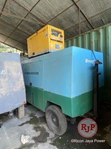 Portable Air Compressor Denyo DIS685SS Green colour